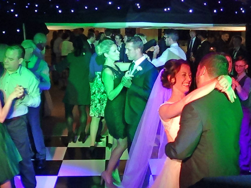 Becky & Jeff's first dance at The Old Hall in Ely