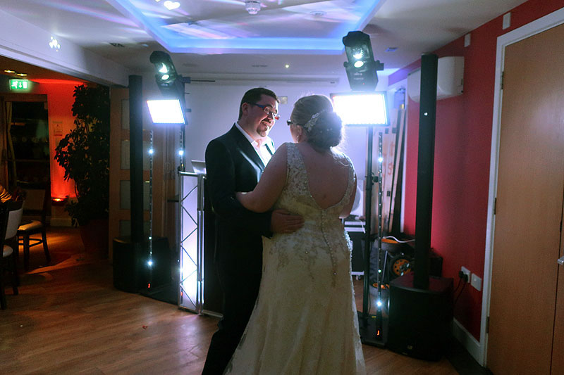 Sophie & Tom's wedding reception at The Little Downham Anchor