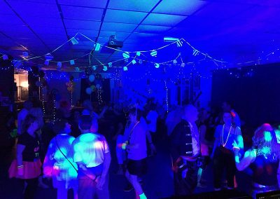 Deb's & Ian's 80s themed party with Cambridgeshire Disco and the Retro Roadshow